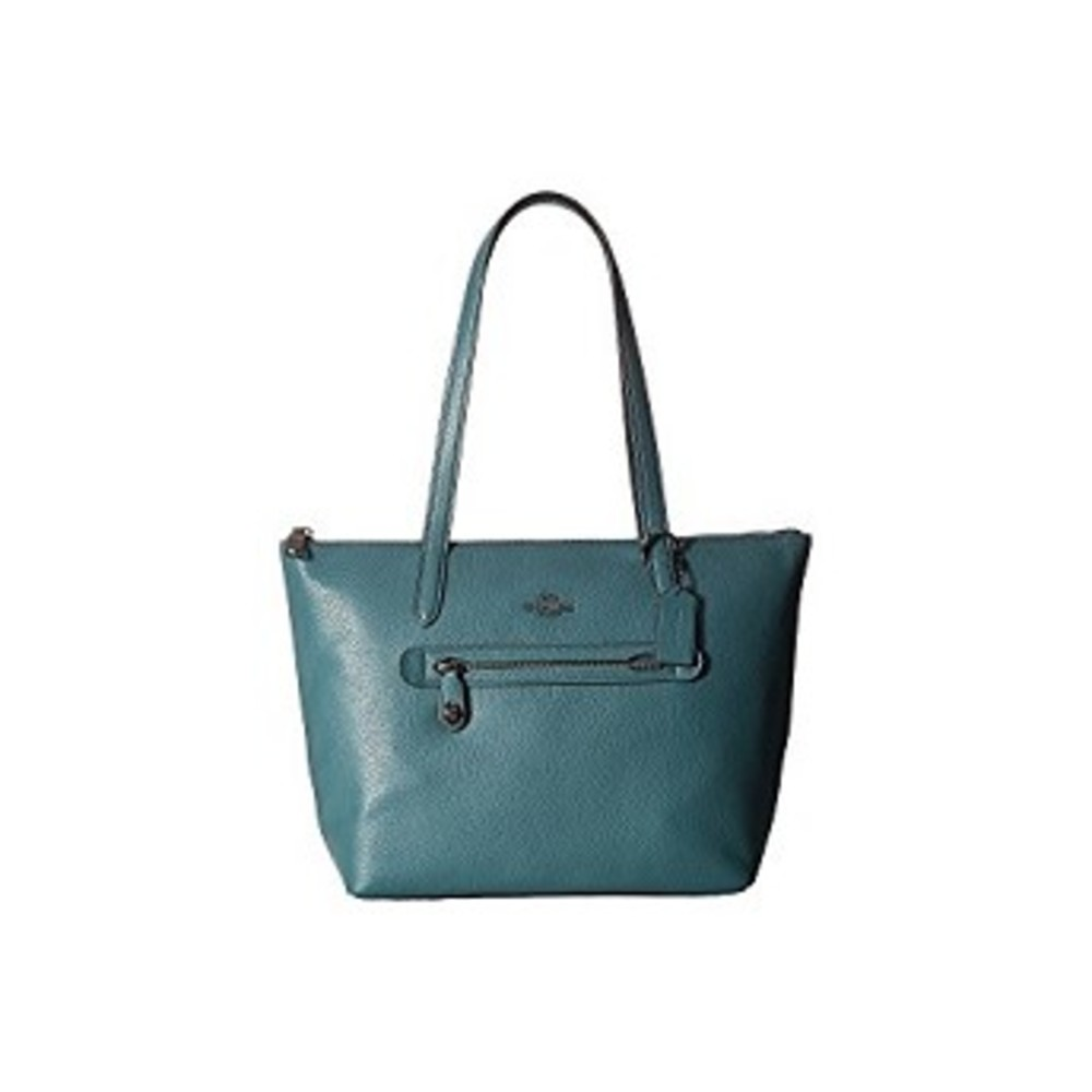 코치 Pebbled Leather Taylor Tote